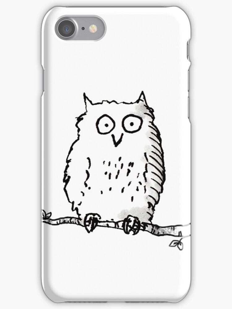 Lone Owl t-shirt by LordOtter