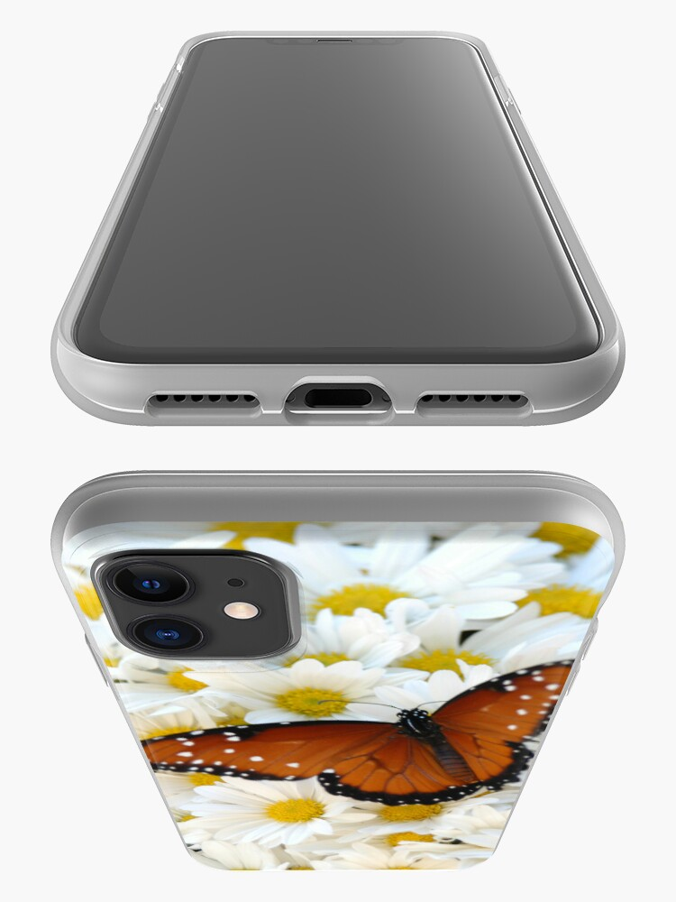 Alternate view of Butterfly on Daisies - iPhone Case iPhone Case & Cover