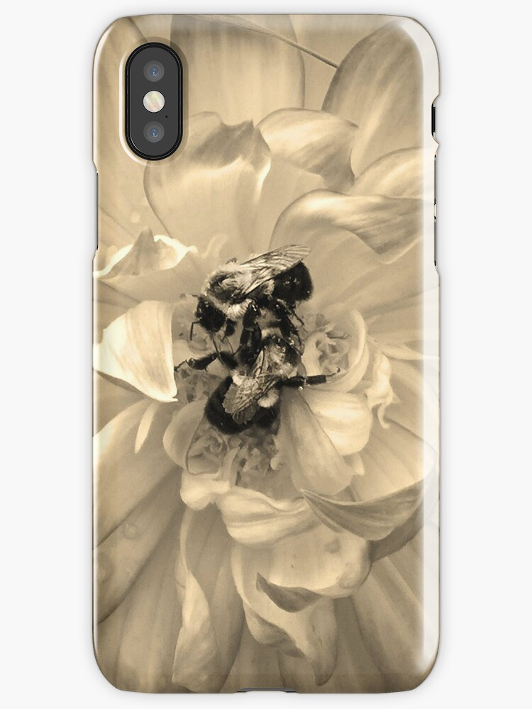 Honey Bees IPhone Case by DeerPhotoArts