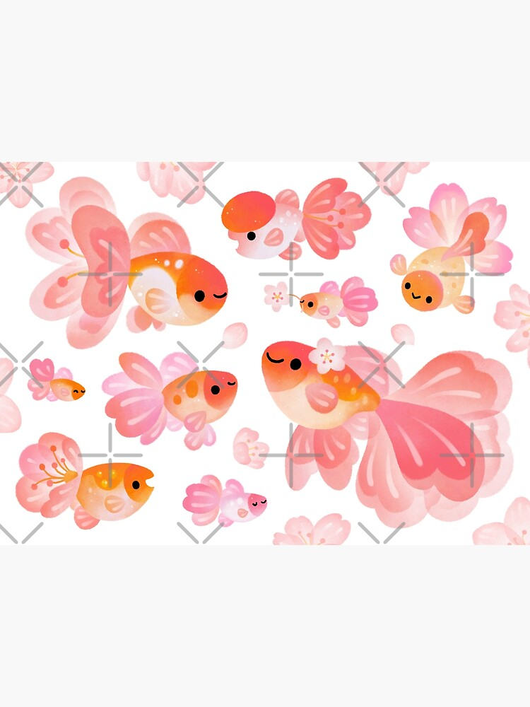 Cherry Blossom Goldfish 2 by pikaole