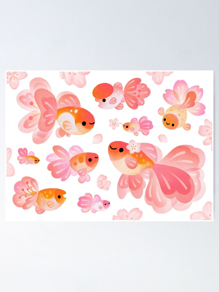 Alternate view of Cherry Blossom Goldfish 2 Poster