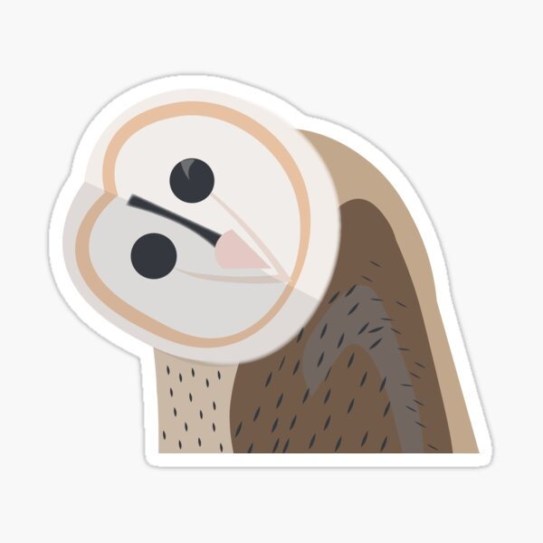 Happy Owl Sticker