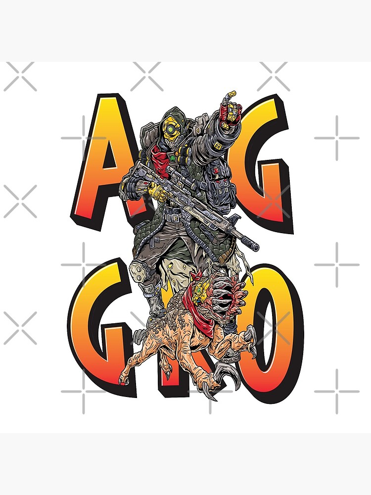 FL4K The Beastmaster Aggro Words Gamers Use Borderlands 3 Rakk Attack!Aggressive Provoking  by ProjectX23