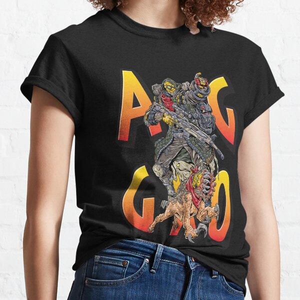 FL4K The Beastmaster Aggro Words Gamers Use Borderlands 3 Rakk Attack!Aggressive Provoking  Classic T-Shirt