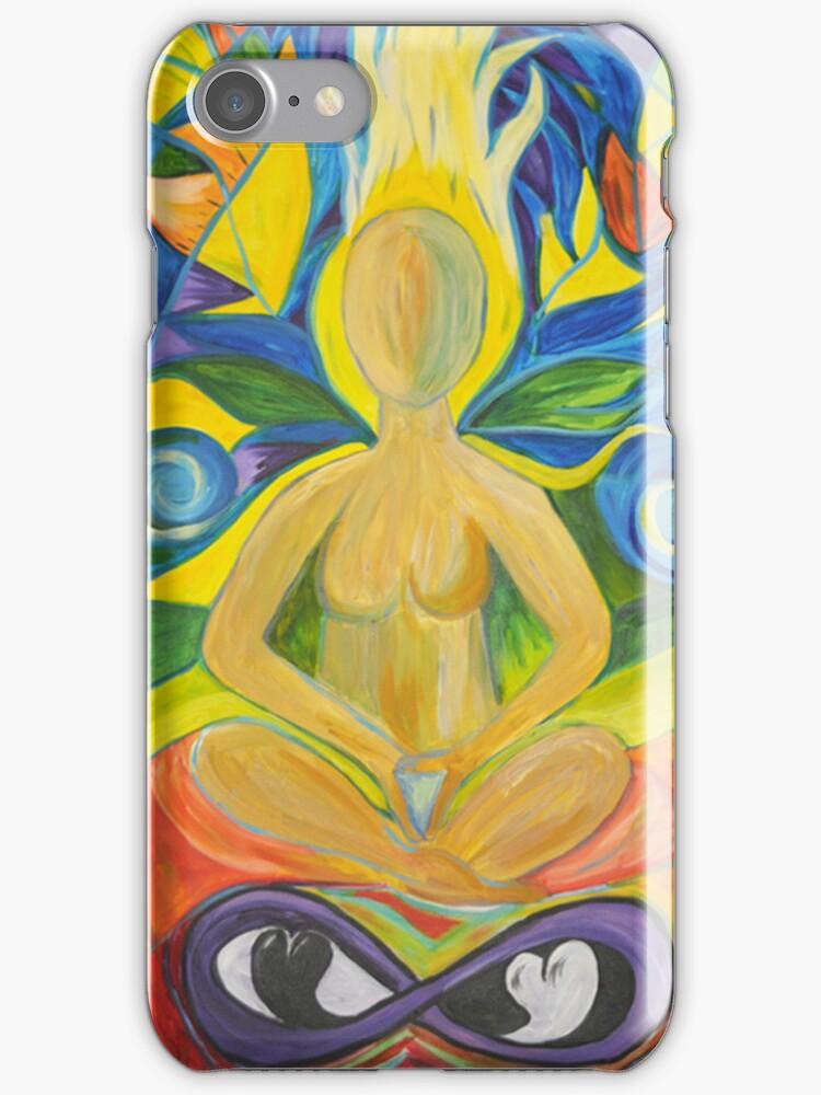 Stained Glass Yoga Meditation by Caryn Colgan