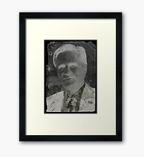 The Negative Candidate Framed Print