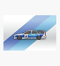 BTCC Volvo 850 TWR Wagon Race Car Photographic Print