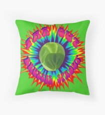 Far Out Brussel Sprout Throw Pillow