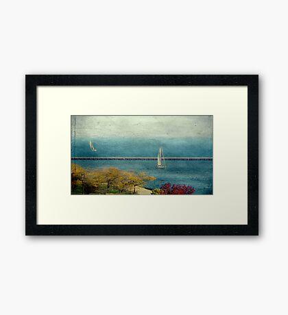Water color © Framed Print