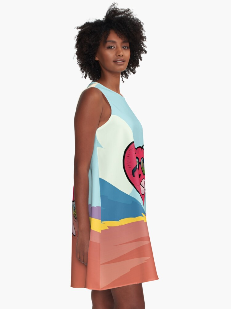 Vista alternativa de Vestido acampanado J&B - Jarty fashion
