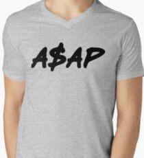 ASAP Always Strive And Prosper Men's V-Neck T-Shirt