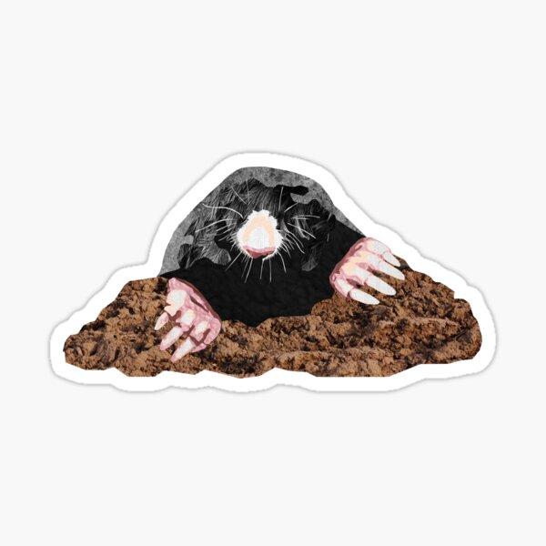 Mole - Laudea Martin Sticker