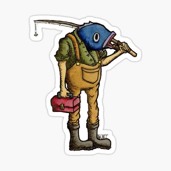 'FISHORMAN' Sticker