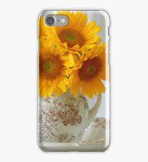 Sunflowers in Pitcher - iPhone Case iPhone Case/Skin
