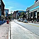 Portland Maine - Awaiting the 5 Bus by Jack McCabe
