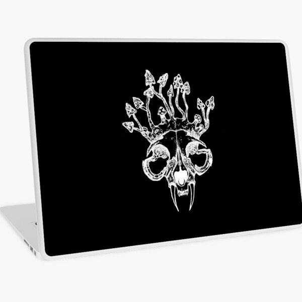 """""""Mushroom Cat Skull"""" Laptop Skin"""