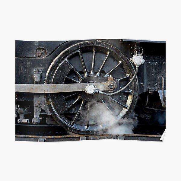 Steam Wheel Poster