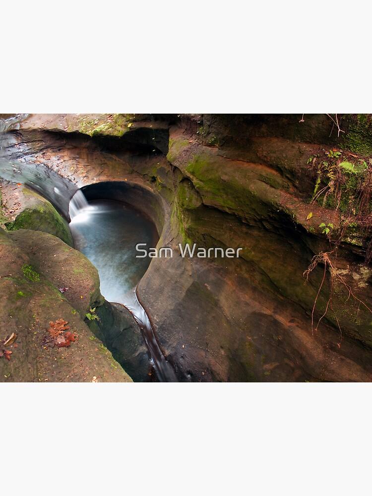 The Devil's Bathtub, Hocking Hills State Park by SamWarner