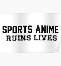 SPORTS ANIME RUINS LIVES Poster