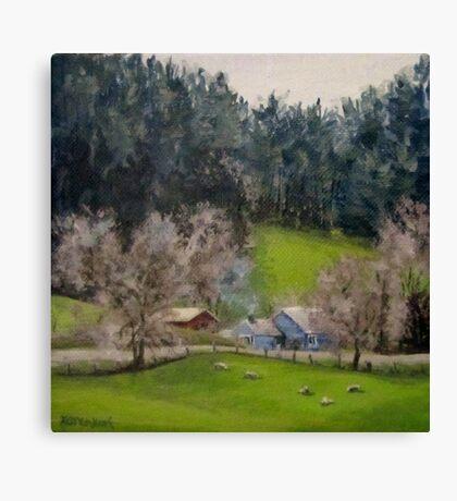 Cozy Winter Canvas Print