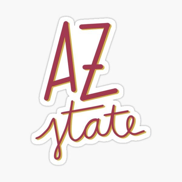 az state Sticker