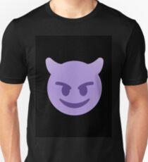 purple devil emoji Unisex T-Shirt
