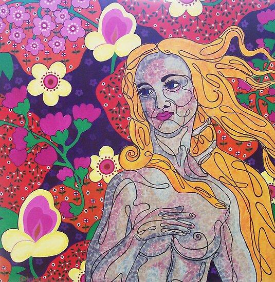 Venus goes Retro by Kelly Gatchell Hartley