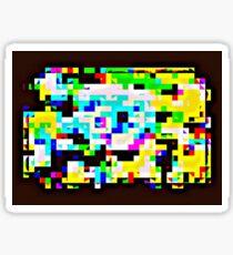 Techno Rainbow Sticker