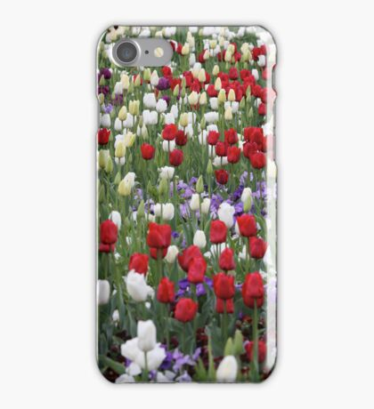 Red Tulips IPhone Cover iPhone Case/Skin
