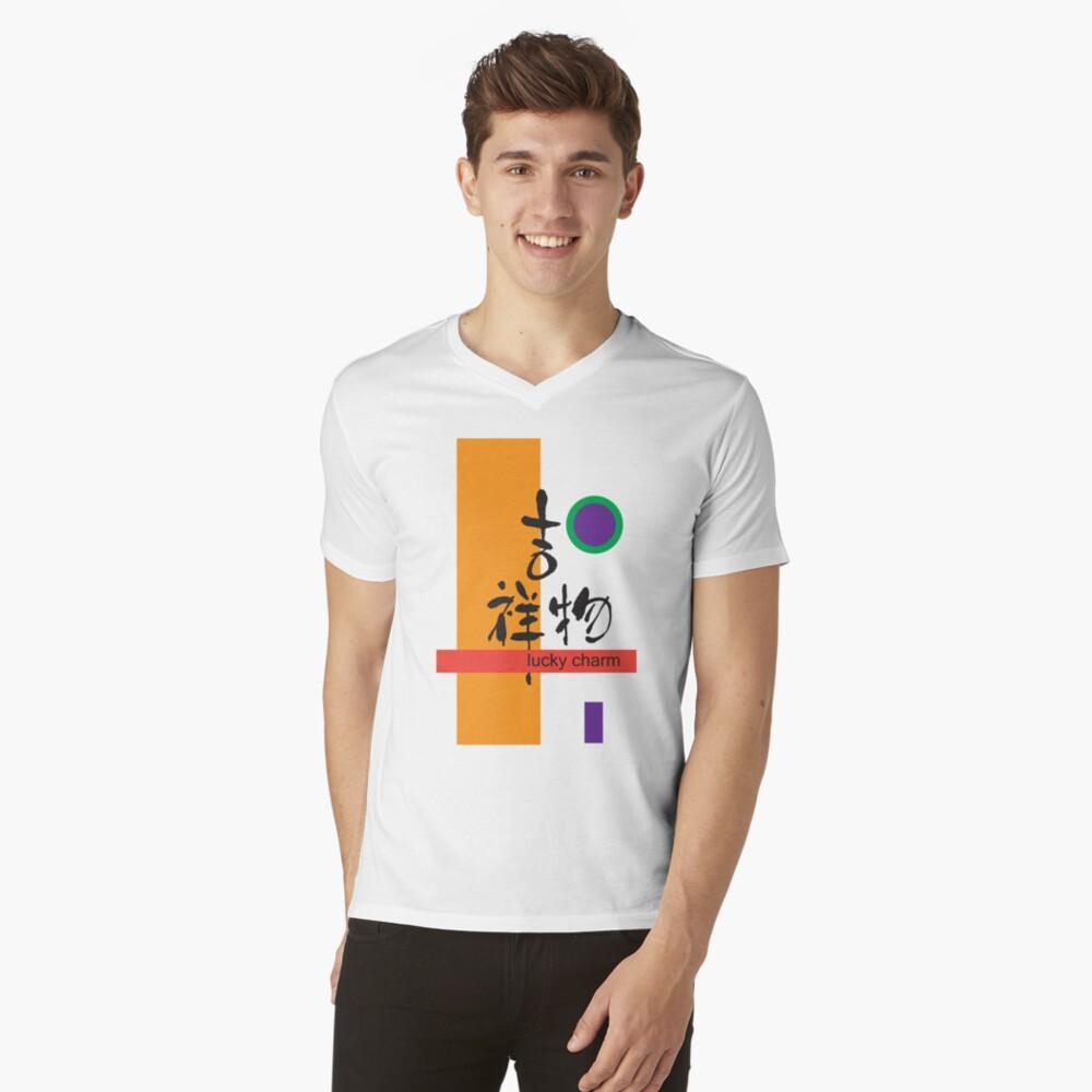 lucky charm Mens V-Neck T-Shirt Front