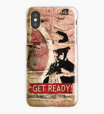 Get Ready - iPhone case iPhone Case
