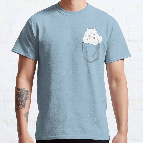 Ice Bear in Pocket  Classic T-Shirt