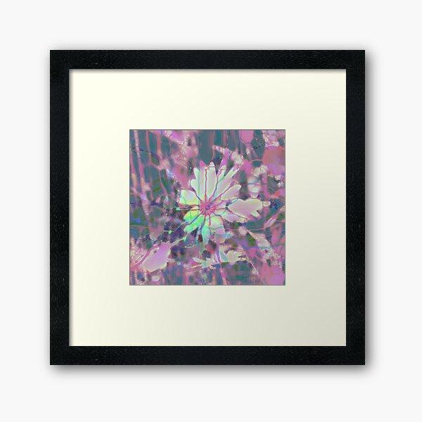 Floral abstraction Framed Art Print