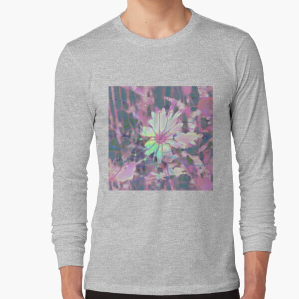Floral abstraction Long Sleeve T-Shirt