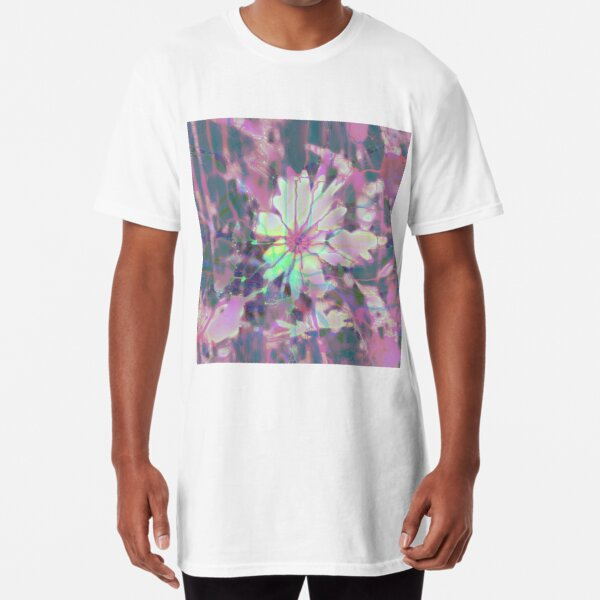 Floral abstraction Long T-Shirt