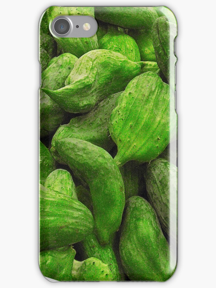 cucumber phone case by anjafreak