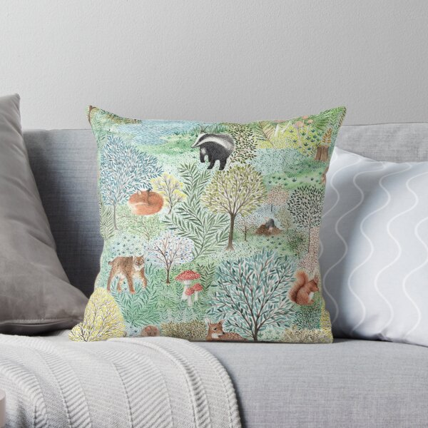 Windermere Woods Throw Pillow