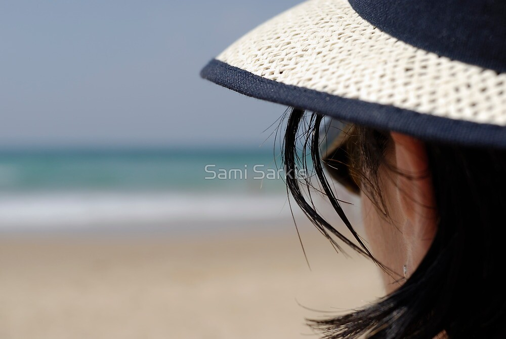 Looking at the horizon by Sami Sarkis