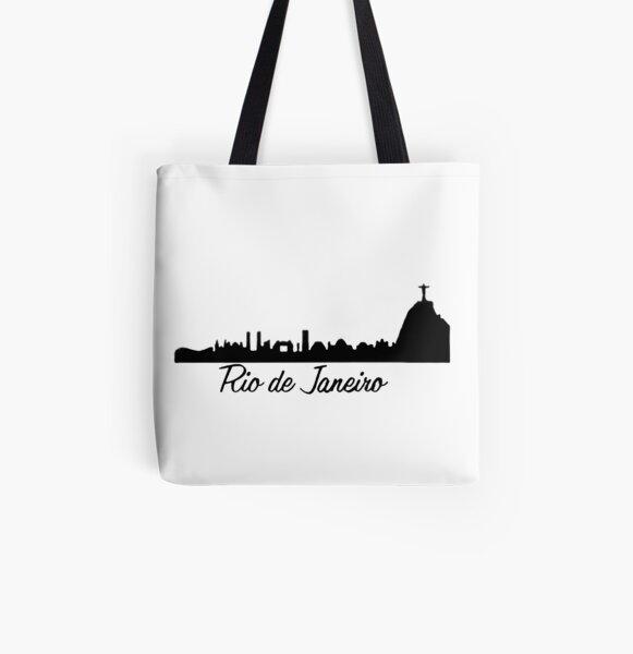 Rio De Janeiro All Over Print Tote Bag