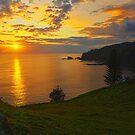 Duncome Bay Sunrise - Norfolk Island by Greg Earl