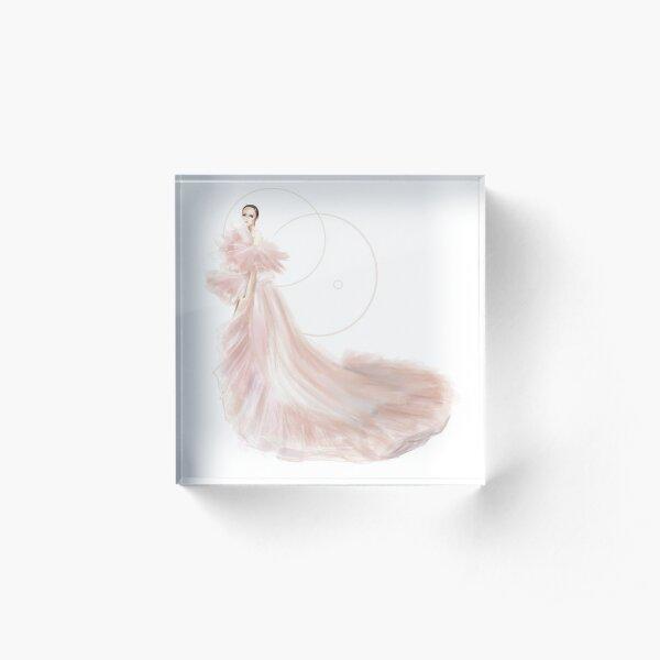 Giambattista Valli Couture no 3 Acrylic Block