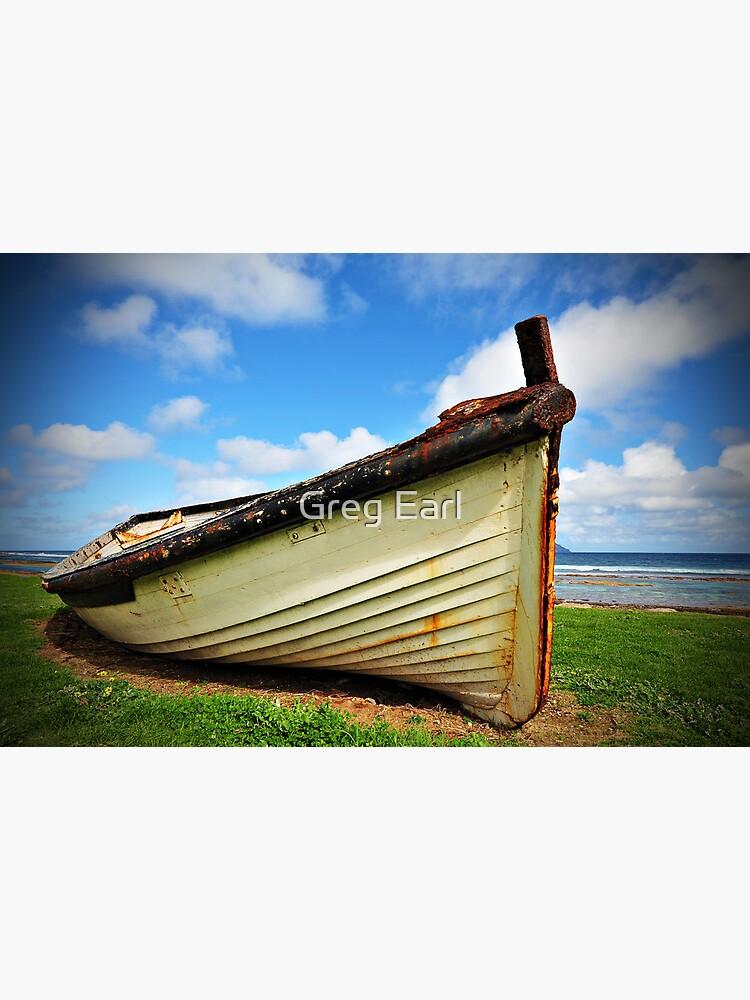 Lighter Boat - Norfolk Island by GregEarl