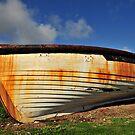 Lighter Boat - Norfolk Island by Greg Earl