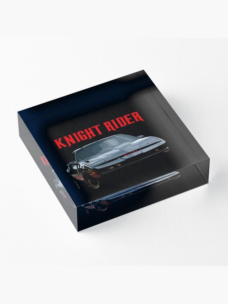 Alternate view of Knight Rider K.I.T.T. Firebird Acrylic Block