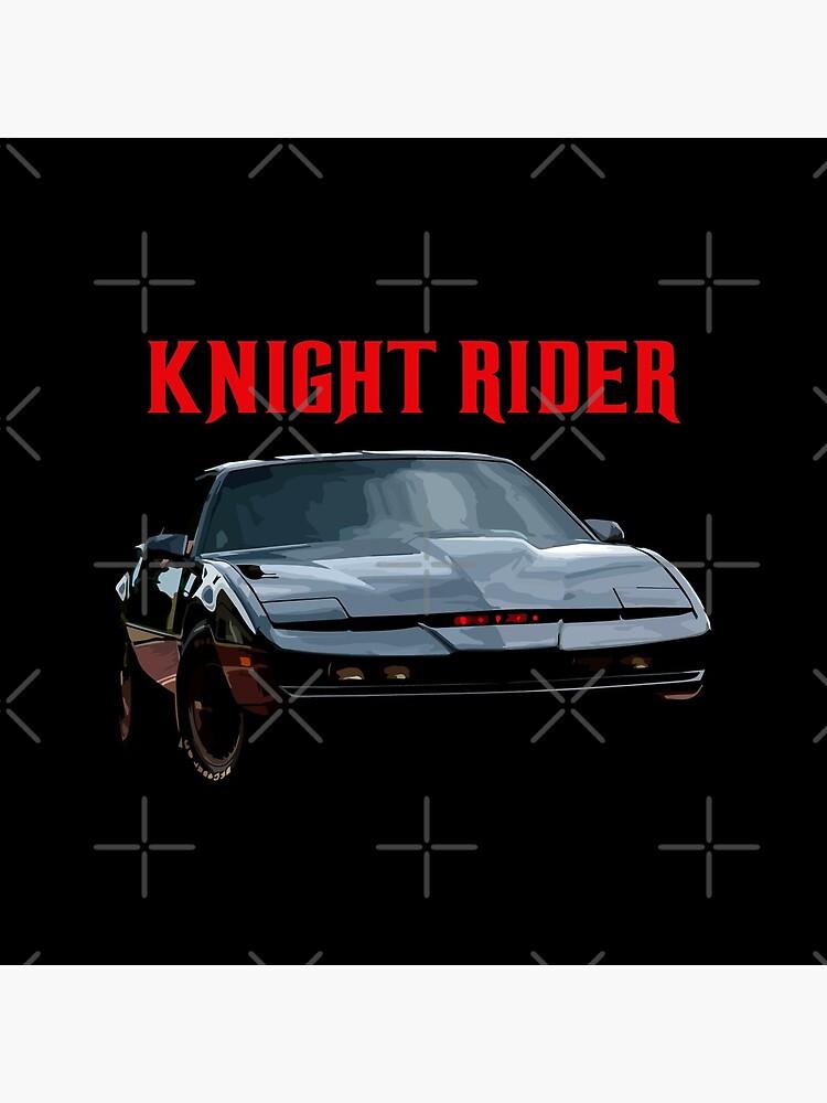 Knight Rider K.I.T.T. Firebird by FromThe8Tees