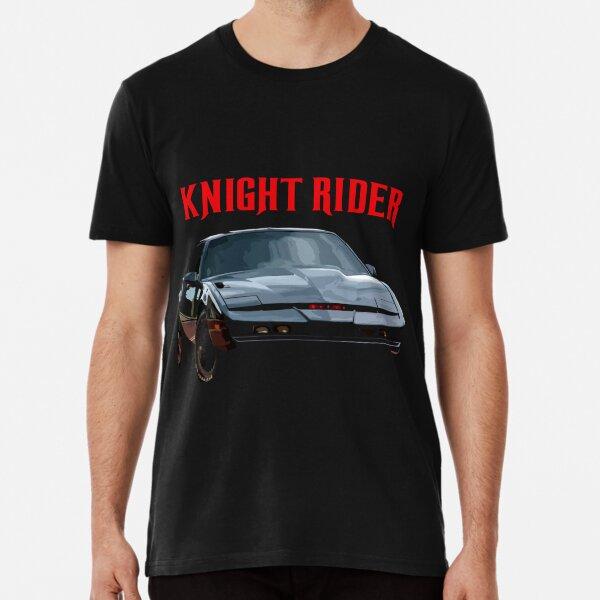 Knight Rider K.I.T.T. Firebird Premium T-Shirt