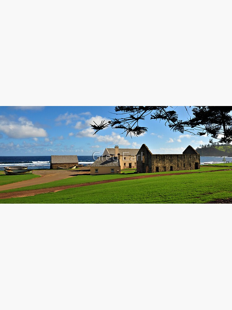 Convict Ruins - Norfolk Island by GregEarl