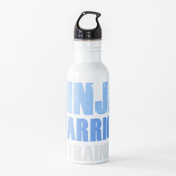 Guerrero ninja en entrenamiento Botella de agua