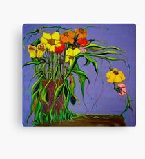 Alien Blooms Canvas Print