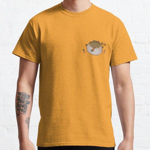 """AEUGH"" pufferfish eats carrot meme Classic T-Shirt"